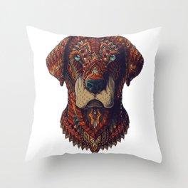 Labrador (Color Version) Throw Pillow