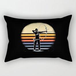 Archery Shirt Archer Rectangular Pillow