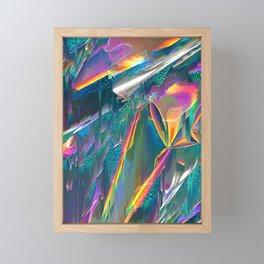 IRIDESCENT Framed Mini Art Print