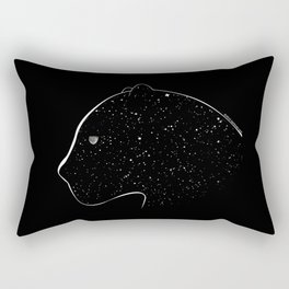 Moon-eyed star panther Rectangular Pillow