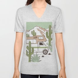 Is it Friday Yet RV Adventure Unisex V-Neck