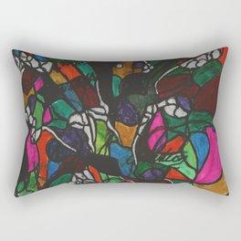 Abstract Pattern Rectangular Pillow