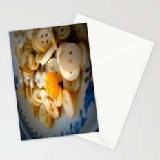 antique buttons Stationery Cards