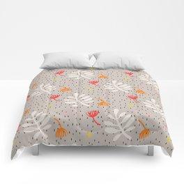 Desert leaves Comforters