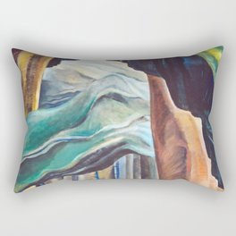 Emily Carr Forest British Columbia Painting Rectangular Pillow