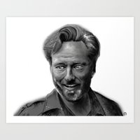 conan Art Prints featuring Conan Digital Painting by Art and Adornment by Mo Schreffler