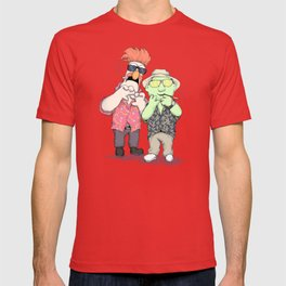 Beaker & Bunsen In Las Vegas T-shirt