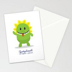 Quetzalcoatl - Le serpent à plumes (Lil Gods) Stationery Cards