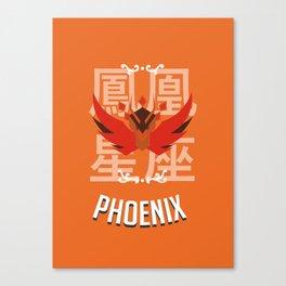 Saint of the Phoenix Canvas Print