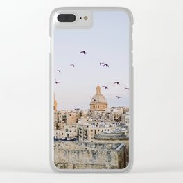 Malta, Valletta Clear iPhone Case