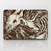 leaves iPad Cases featuring doe-eyed by Teagan White