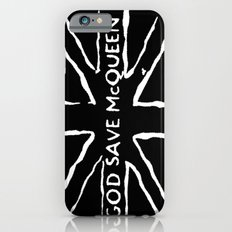 God Save McQueen Black and White Slim Case iPhone 6s
