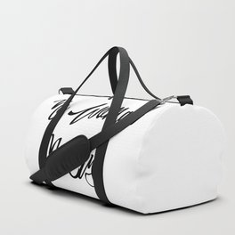 """No woman no cry"" pattern Duffle Bag"