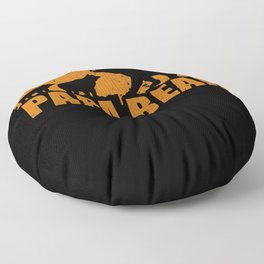 Papa Bear Bears Family Gift Father Floor Pillow