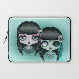 Zombie Doll The Dark Side Laptop Sleeve