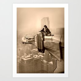 1935 VINTAGE PHOTO Art Print