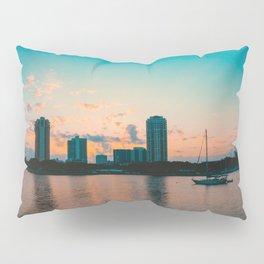 St. Pete Sunset Pillow Sham