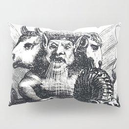 Multiheaded demon Pillow Sham