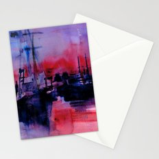 BOSTON 4 - RED Stationery Cards