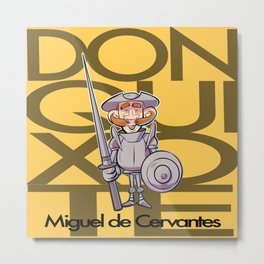Don Quixote Metal Print