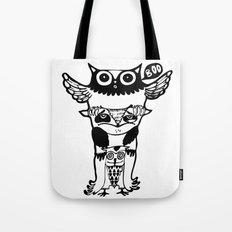 badass owls Tote Bag