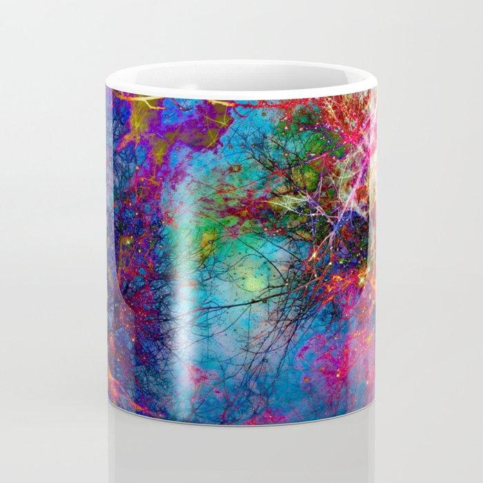 Colorful fiber  Coffee Mug