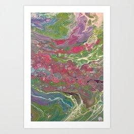 Salt water taffy Art Print