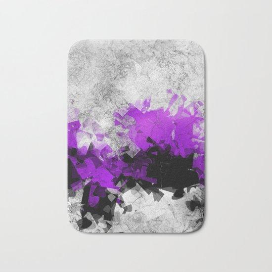 window curtain - puzzle -1- Bath Mat
