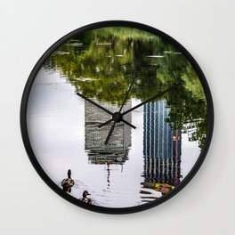 Boston Reflections Wall Clock