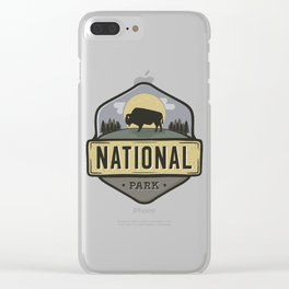 National Park Clear iPhone Case
