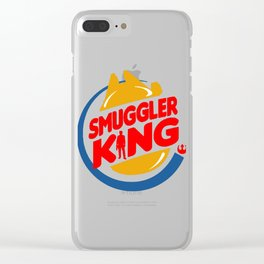 Smuggler King Clear iPhone Case
