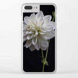 Bridezilla Dahlia.4179 Clear iPhone Case
