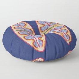 Diatom nr3 Floor Pillow