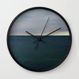 The storm flattens Wall Clock