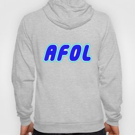 AFOL in Brick Font Logo Design [Alternate Colors] by Chillee Wilson Hoody
