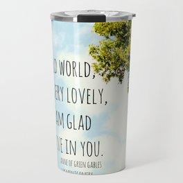 World Anne Green Gables Travel Mug