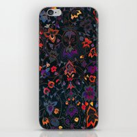 bali iPhone & iPod Skins featuring Bali Floral by Nikkistrange