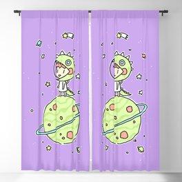 Space Dinosaur Blackout Curtain