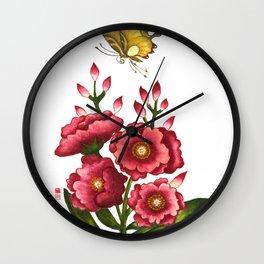 Celosia cristata_Solnekim Wall Clock