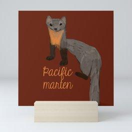 Pacific Marten Mini Art Print