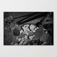 Pick Up The Pieces Canvas Print
