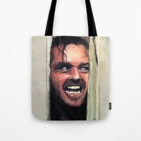 fear Tote Bags featuring Fear. by Emiliano Morciano (Ateyo)