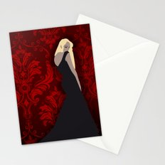 The maxi dress Stationery Cards