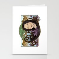 regina mills Stationery Cards featuring regina nouveau by raynall