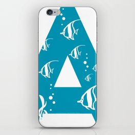 A is for Angelfish - Animal Alphabet Series iPhone Skin