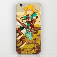 the legend of zelda iPhone & iPod Skins featuring Legend of Zelda by bozrat
