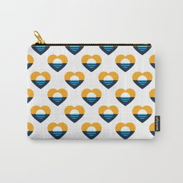 Heart of MKE - People's Flag of Milwaukee Carry-All Pouch