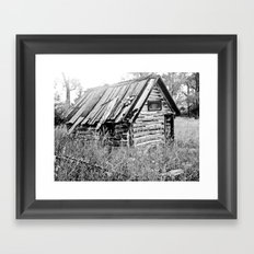 Fixer-Upper Framed Art Print
