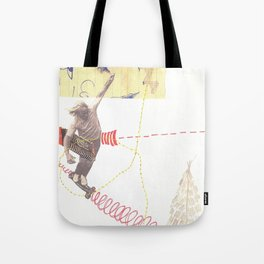 """""""going nowhere fast"""" Tote Bag"""