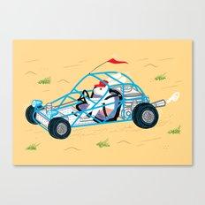 Dune Bunny Canvas Print